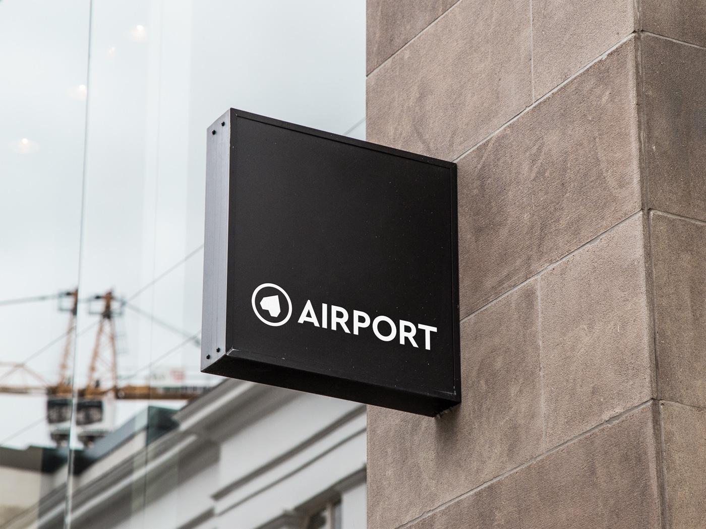 Club Airport Würzburg Schild