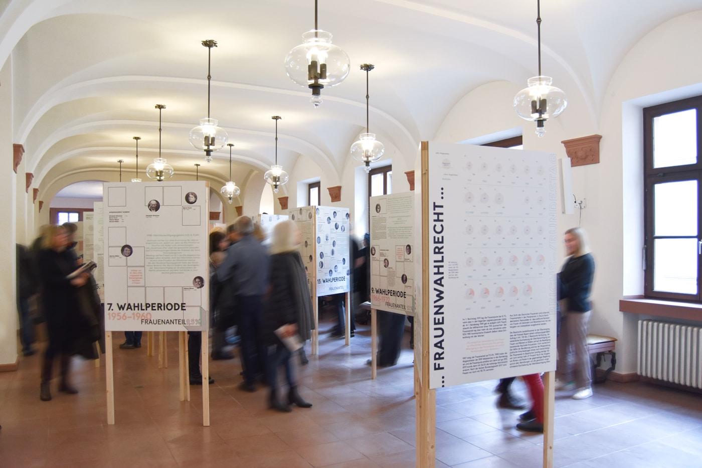 Ausstellungseröffnung 100 Jahre Frauenwahlrecht