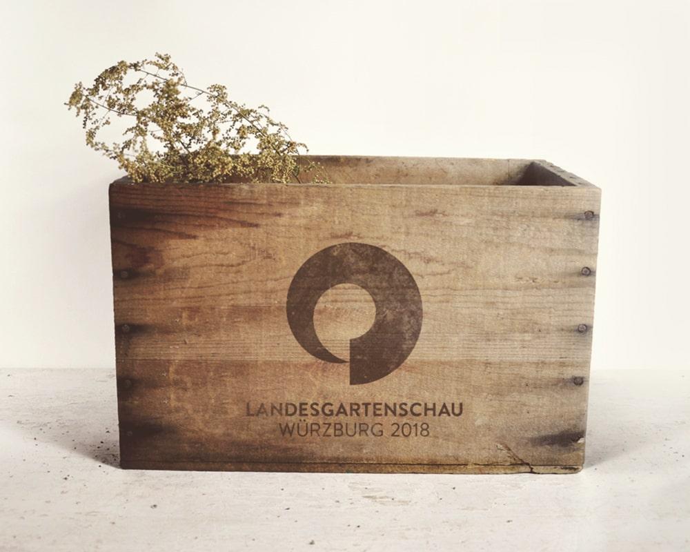 Corporate Design Konzept Landesgartenschau