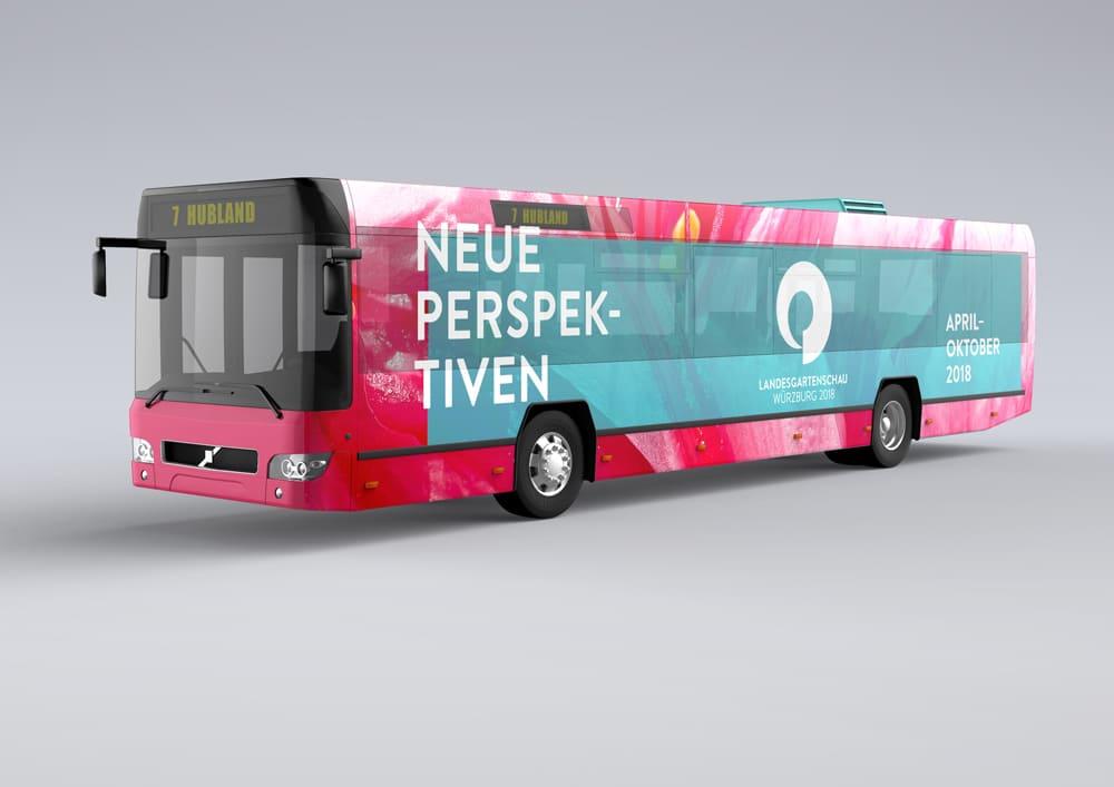 Bus Design Landesgartenschau Würzburg