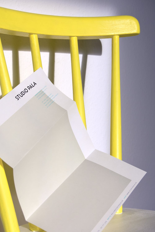 Briefbogen Design Studio Pala