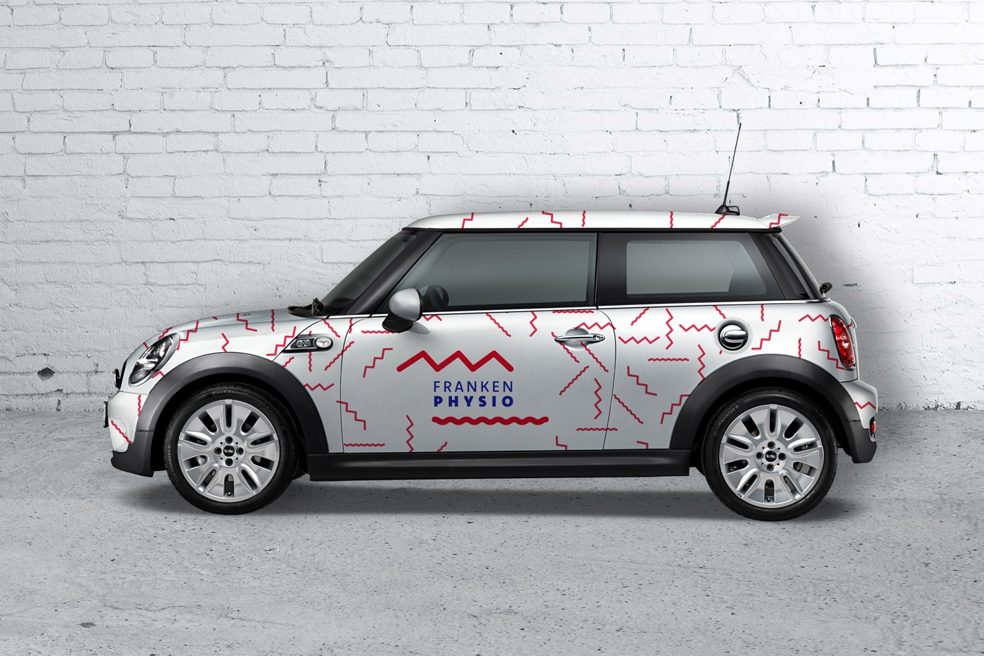 Konzept Mini Cooper Design Physiotherapie Praxis