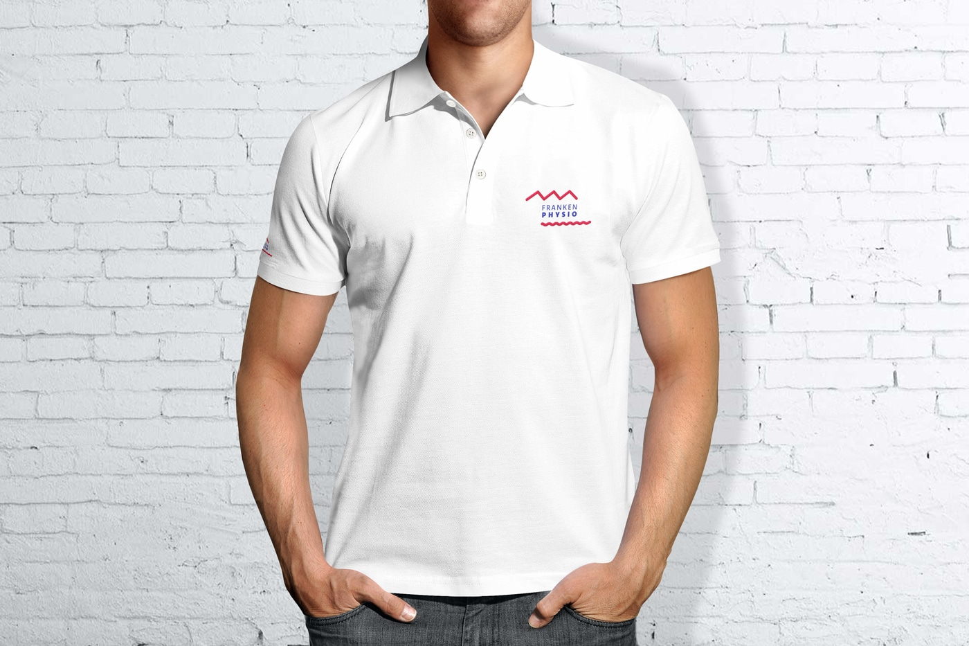 Poloshirt Design Physiotherapie Praxis