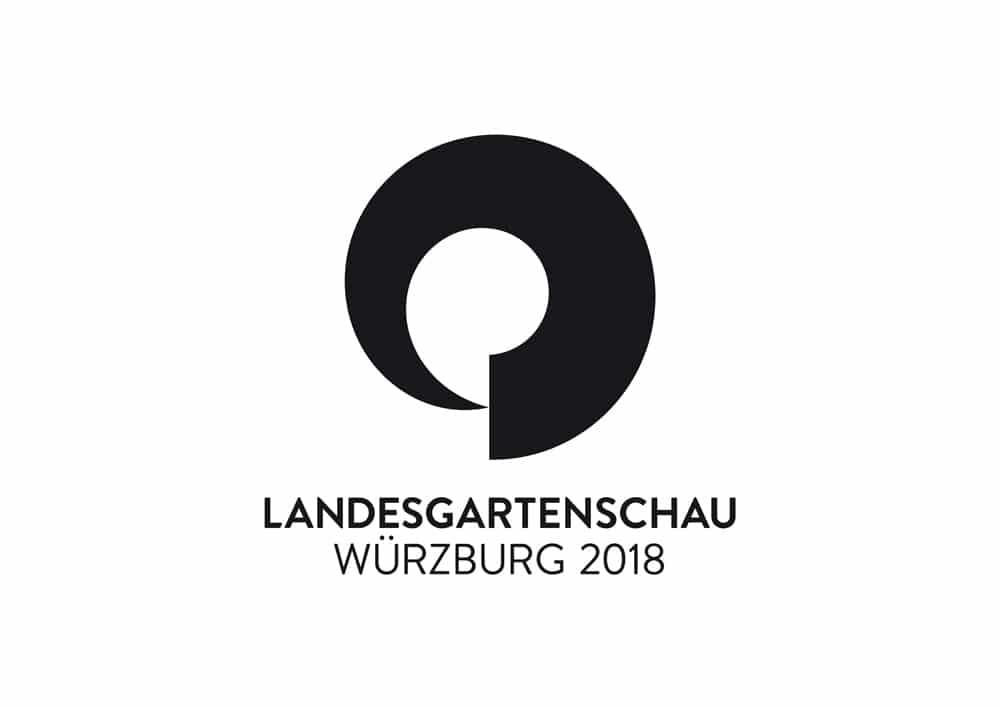 Logo Design Landesgartenschau Würzburg