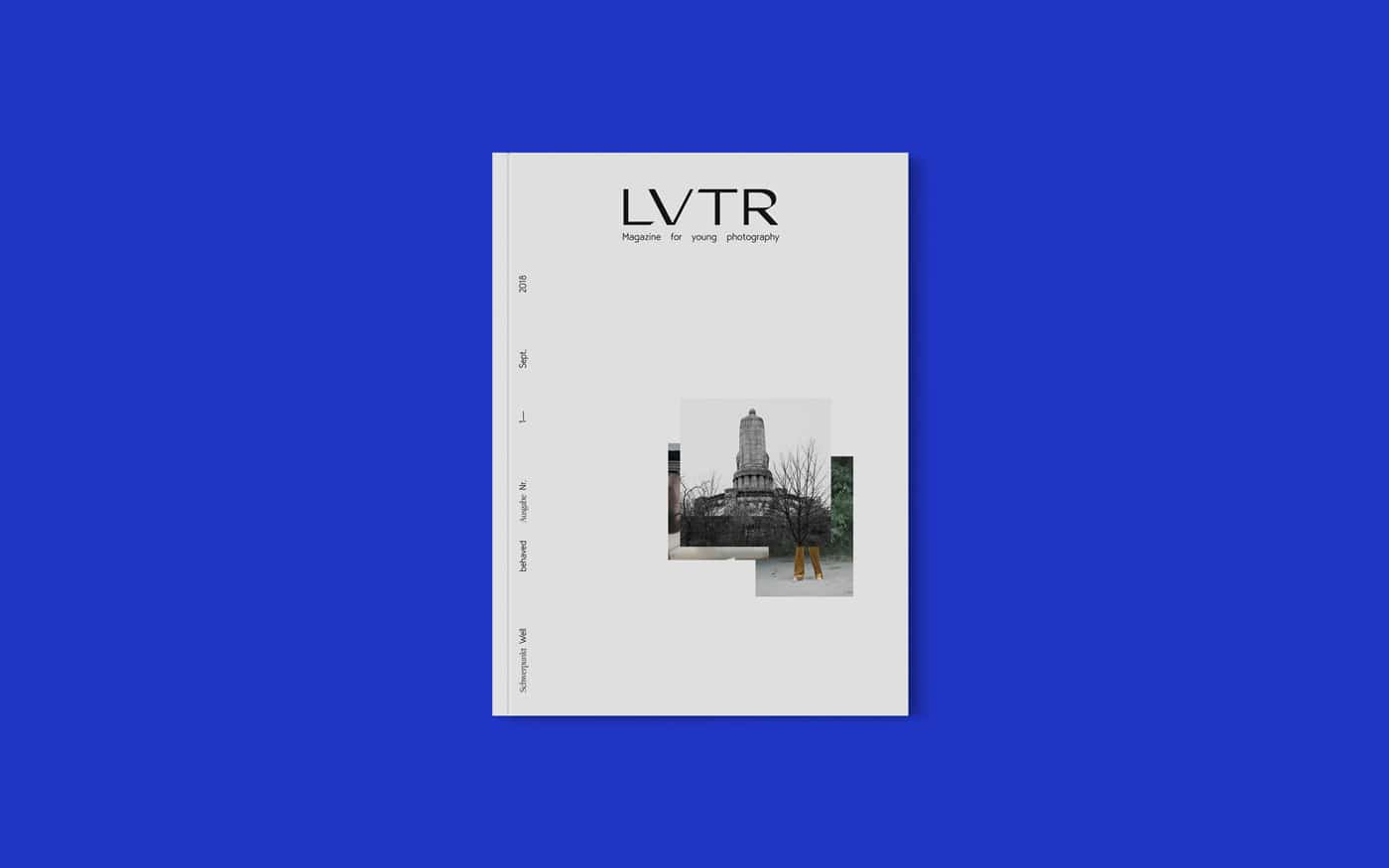 Cover Design LVTR – Magzine for young photography