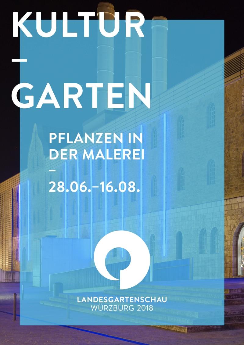 Plakat Design Landesgartenschau Würzburg