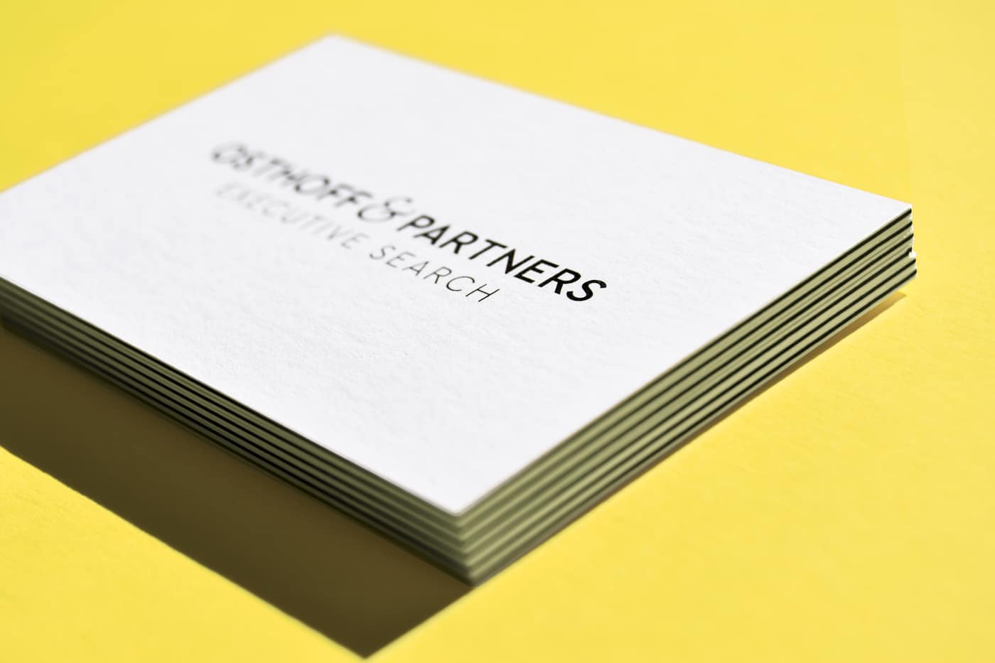Visitenkarten Osthoff & Partners Frankfurt