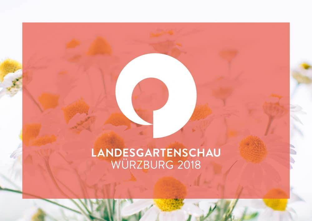 Visual Design Landesgartenschau Würzburg