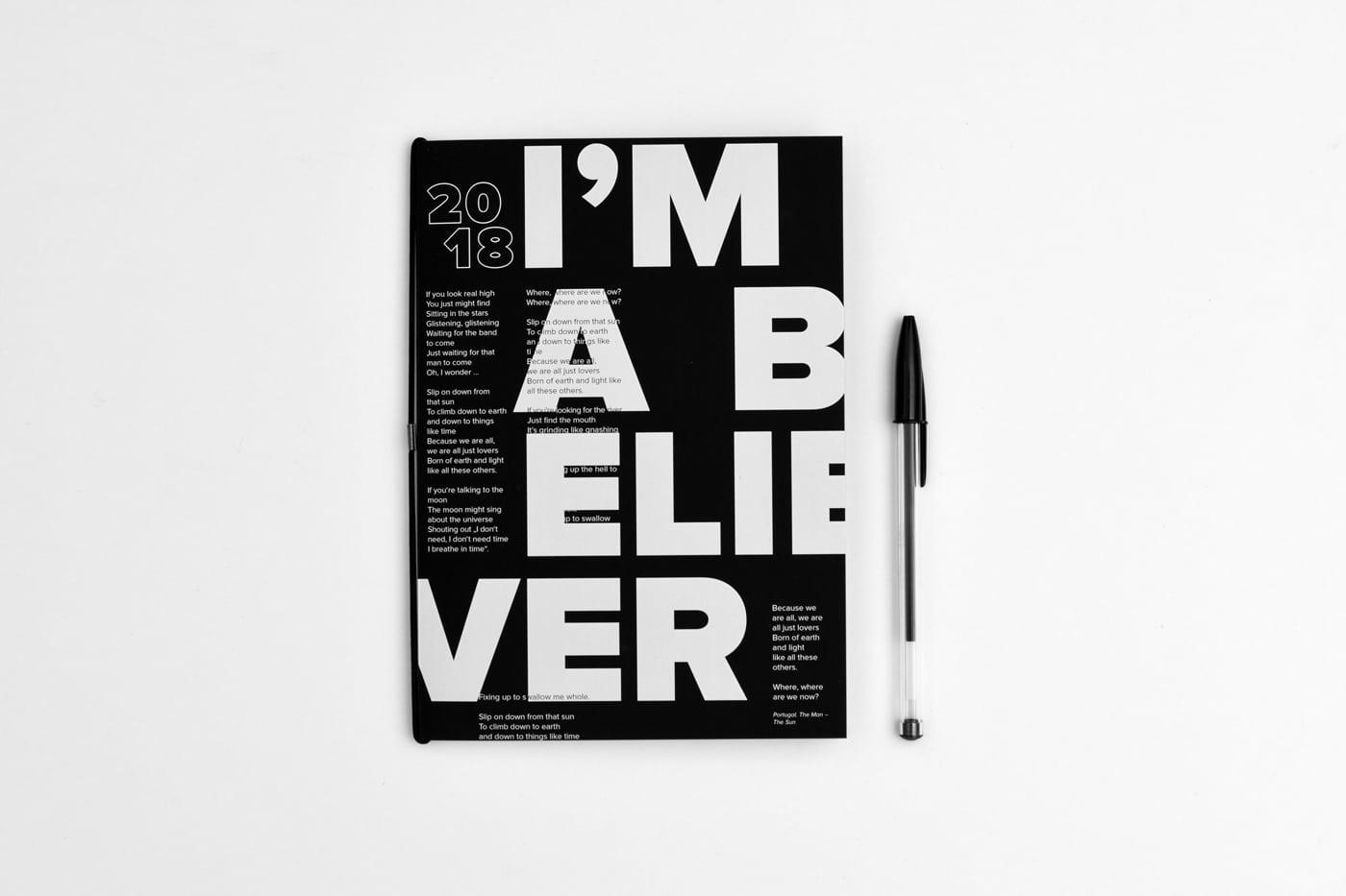Notizbuch Design Studio Pala Weihnachten 2017