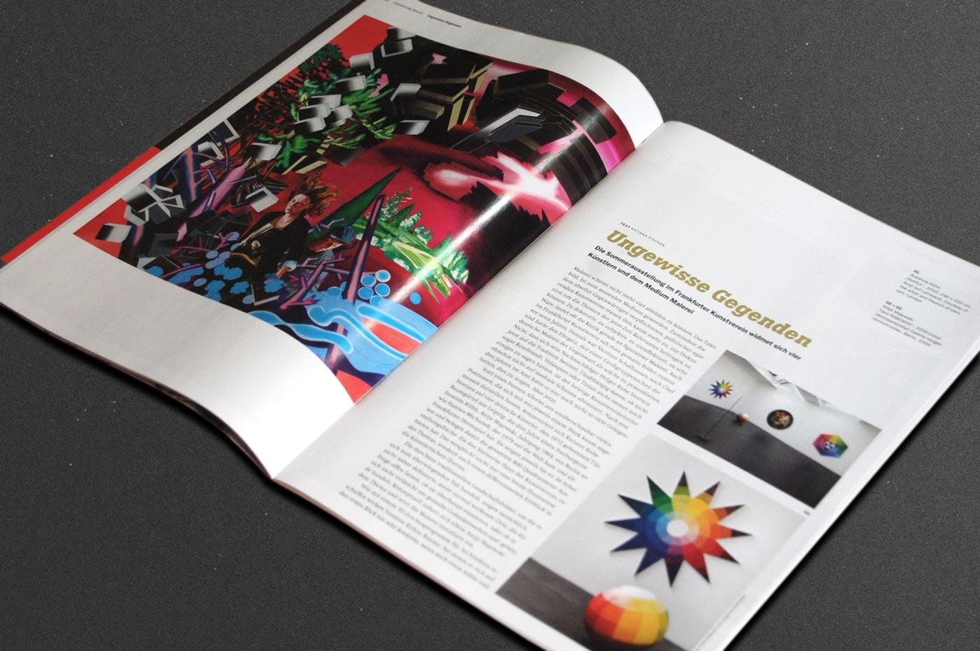 Editorial Design Magazin Frankfurt