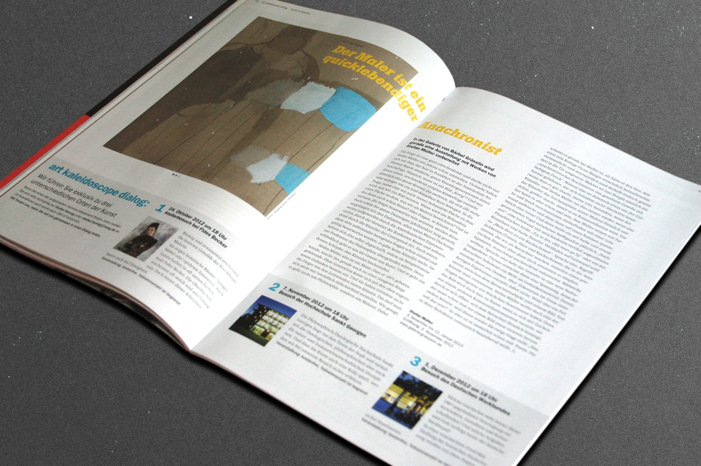 Editorial Design Magazin Frankfurt