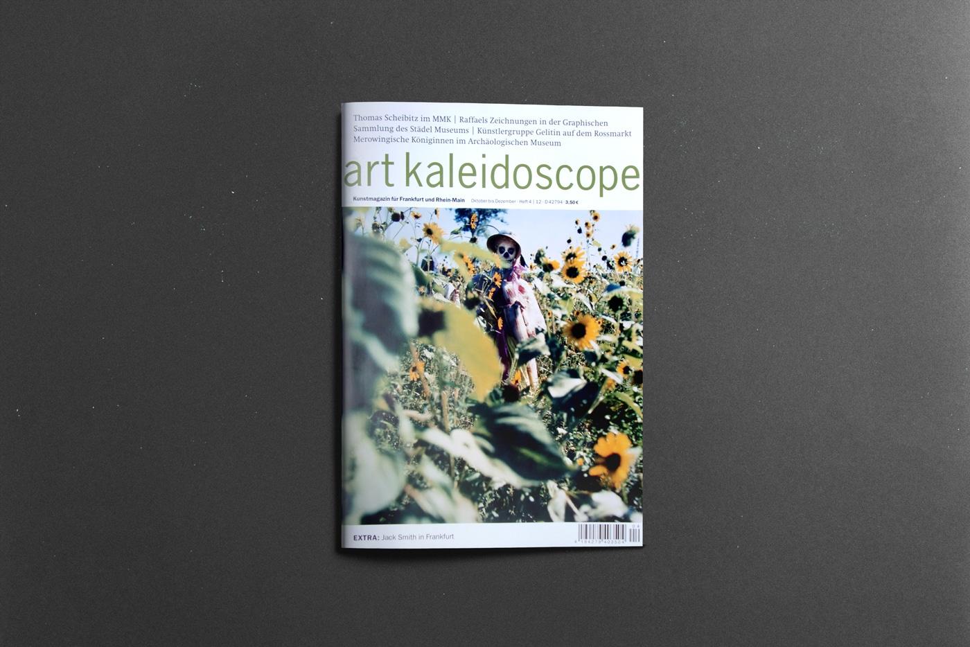 Titelgestaltung Editorial Design Magazin Frankfurt