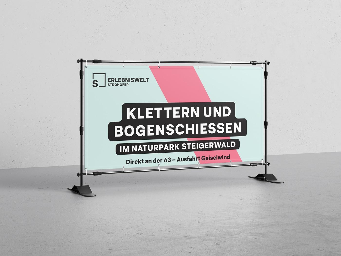 Erlebniswelt Strohofer Banner Design
