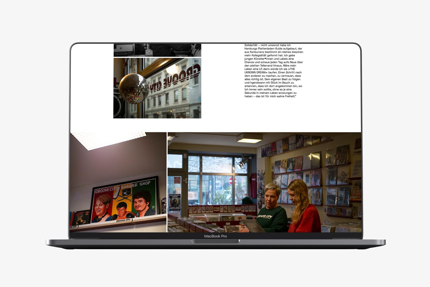 Screendesign Marga Glanz, Portresie de femme
