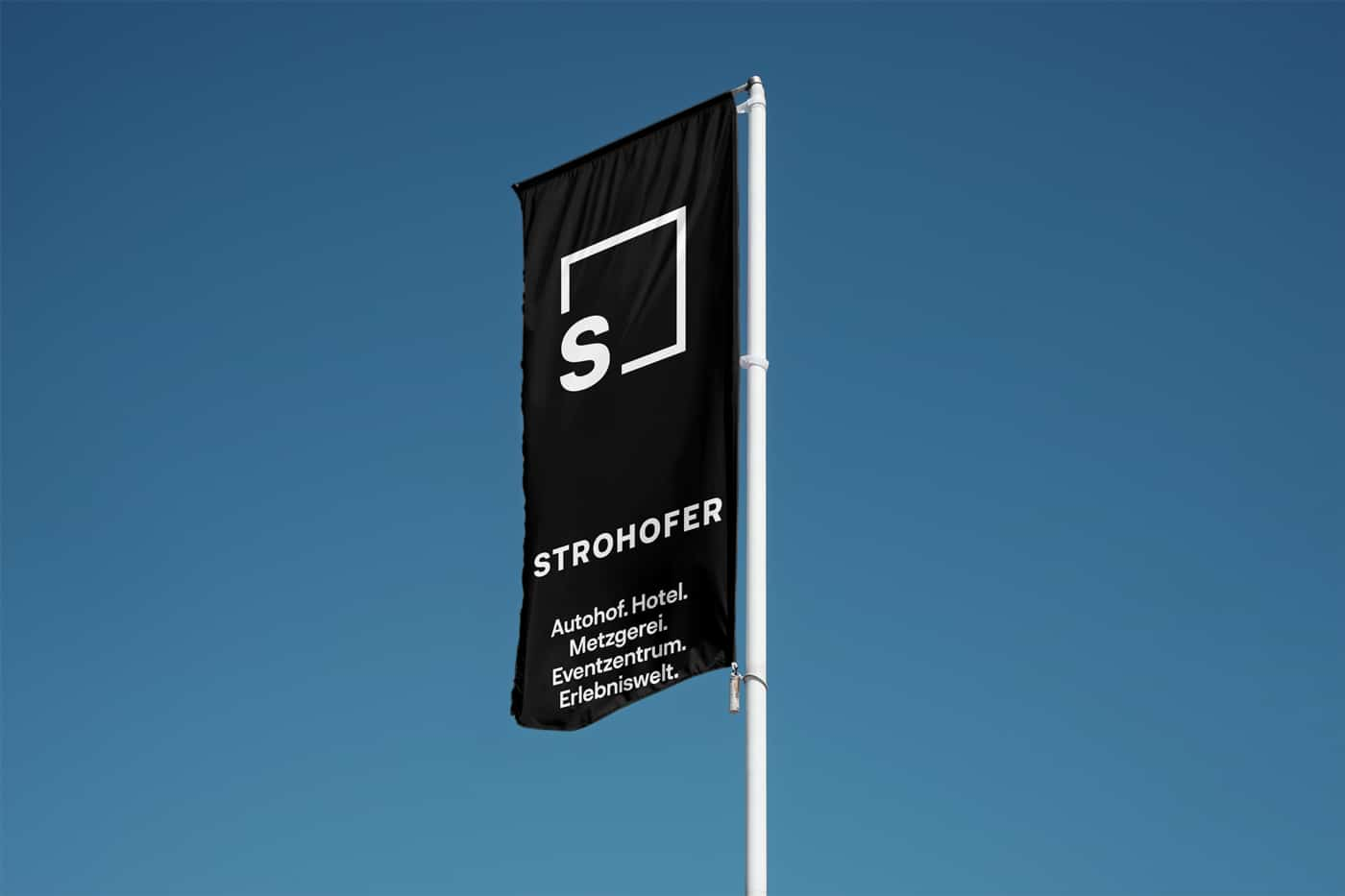 Strohofer Flagge Design