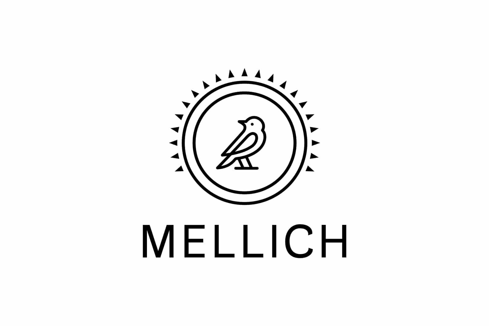 Mellich Öl Logo Design