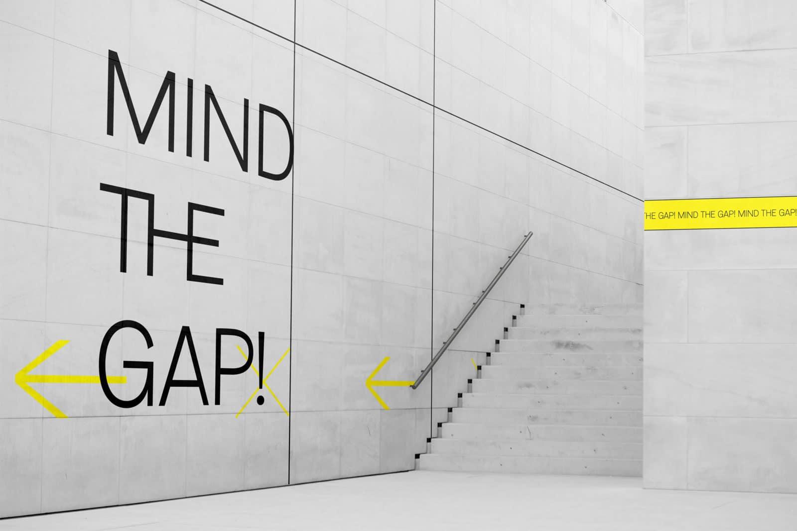 Entwurf Design Wandgestaltung für die Ausstellung
