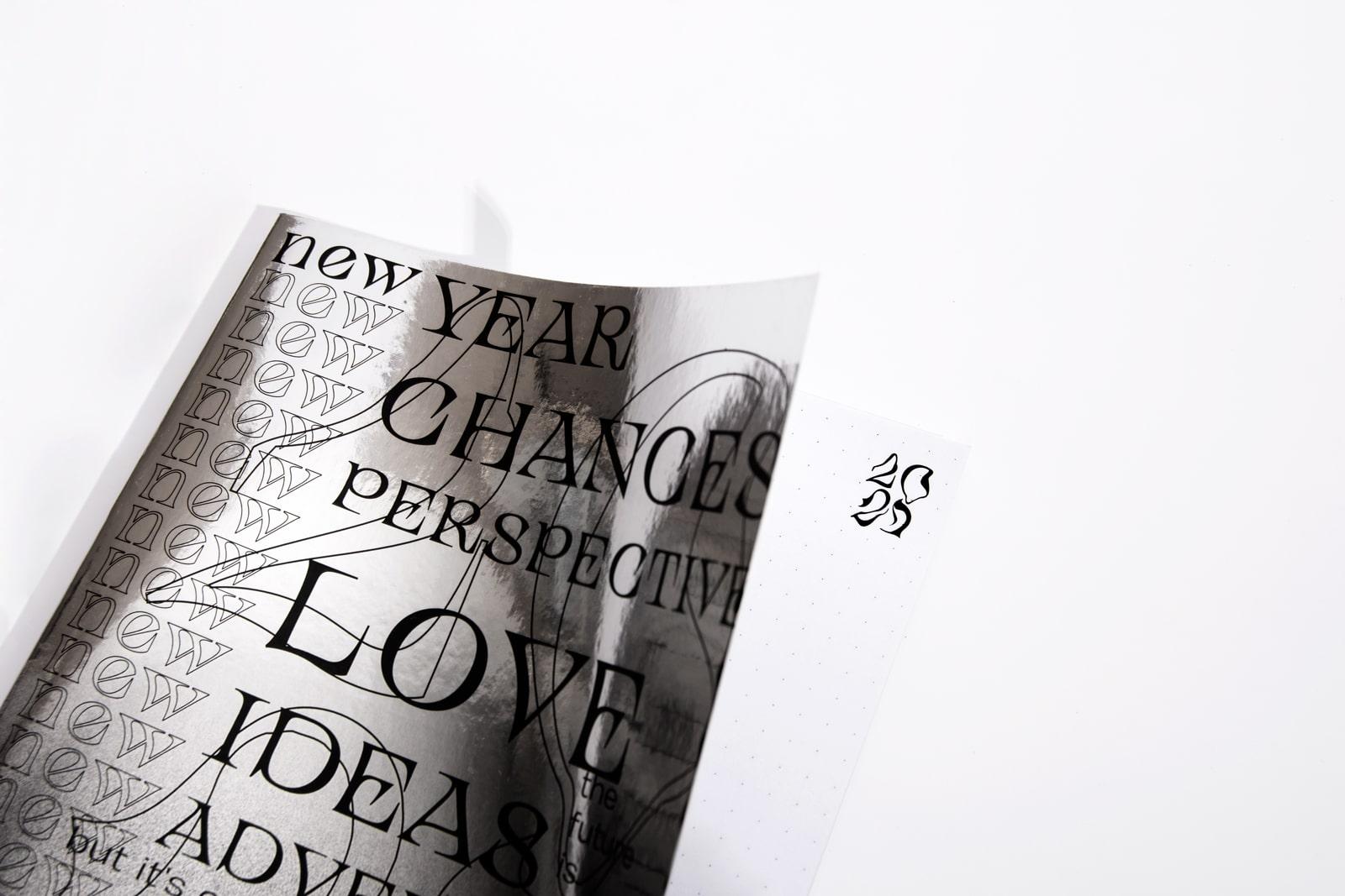 Cover und Innenseite Design Notizbuch von Studio Pala