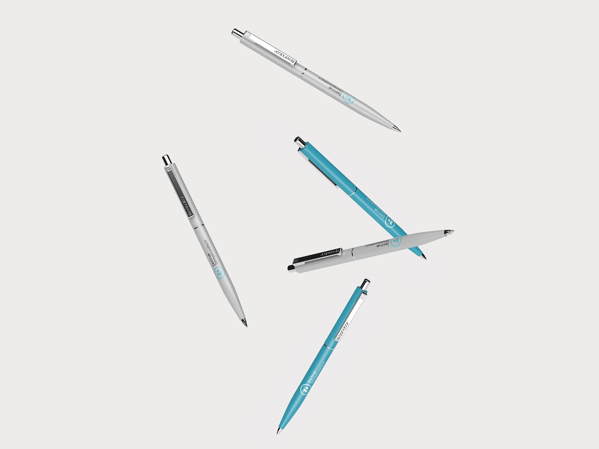 Kugelschreiber Design Zentrum Zahngesundheit