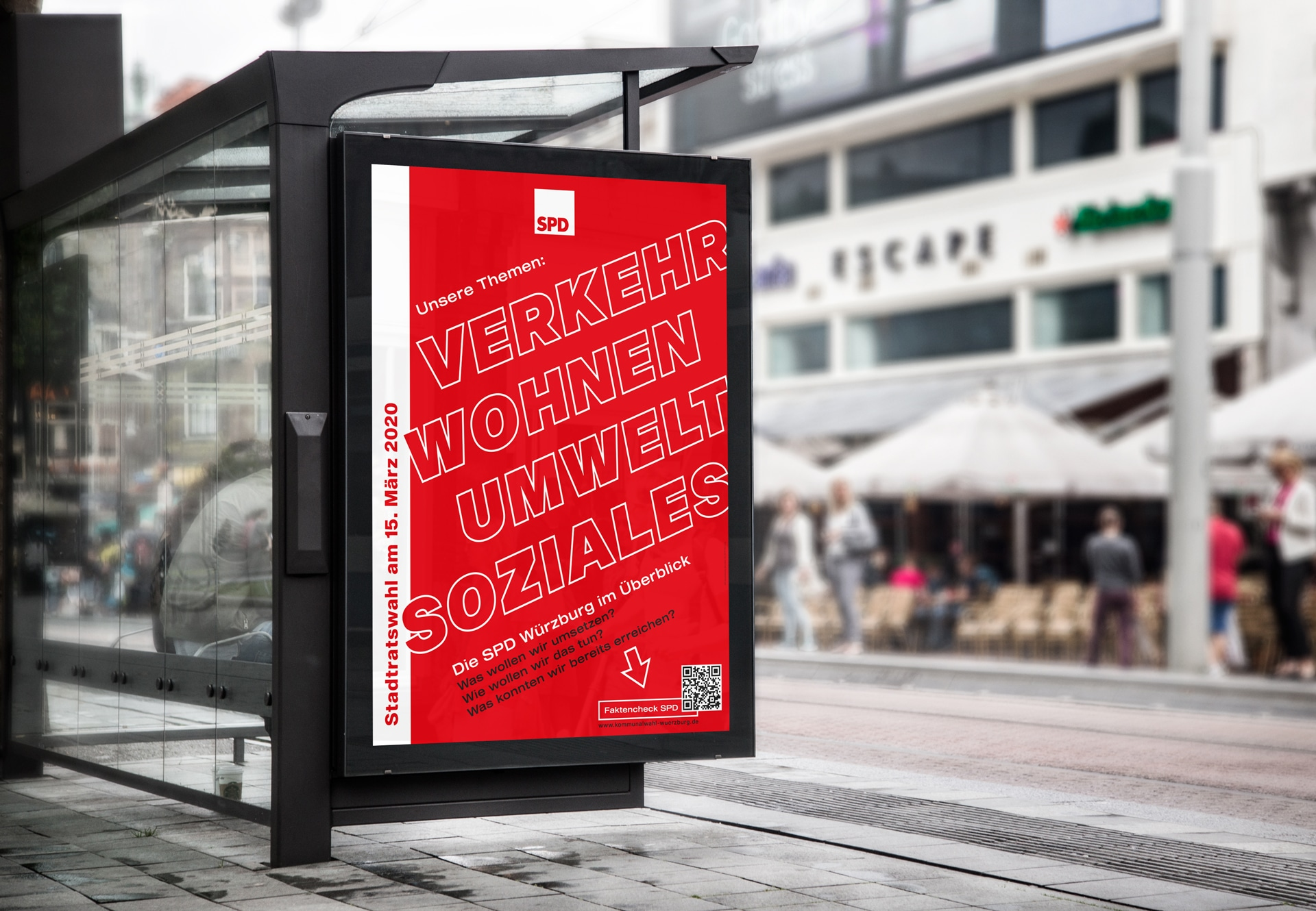Kommunalwahlkampagne SPD Würzburg